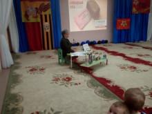 Фотоотчет о мероприятии в рамках акции «Блокадный хлеб»