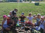 Фотоотчет «Организация детского пикника на территории детского сада»